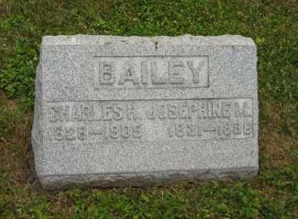 BAILEY, CHARLES H. - Lorain County, Ohio | CHARLES H. BAILEY - Ohio Gravestone Photos