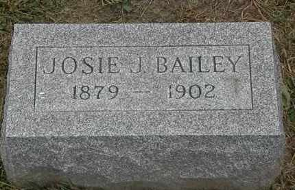 BAILEY, JOSIE J. - Lorain County, Ohio | JOSIE J. BAILEY - Ohio Gravestone Photos