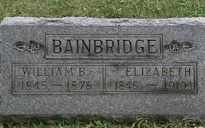 BAINBRIDGE, ELIZABETH - Lorain County, Ohio | ELIZABETH BAINBRIDGE - Ohio Gravestone Photos