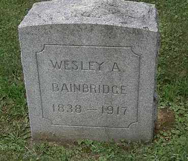 BAINBRIDGE, WESLEY A. - Lorain County, Ohio | WESLEY A. BAINBRIDGE - Ohio Gravestone Photos