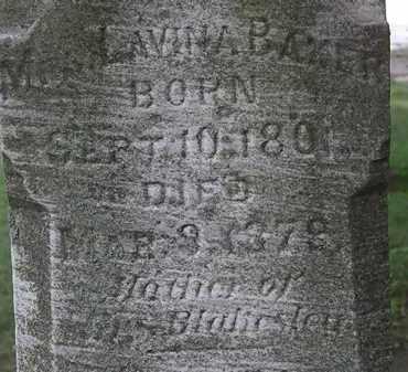 BAKER, LAVINA - Lorain County, Ohio   LAVINA BAKER - Ohio Gravestone Photos