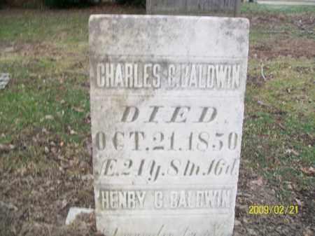 BALDWIN, HENRY C - Lorain County, Ohio | HENRY C BALDWIN - Ohio Gravestone Photos