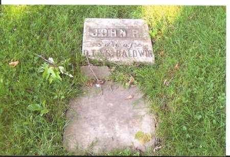 BALDWIN, JOHN R. - Lorain County, Ohio | JOHN R. BALDWIN - Ohio Gravestone Photos