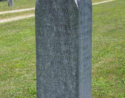 BANNING, E.T. - Lorain County, Ohio | E.T. BANNING - Ohio Gravestone Photos