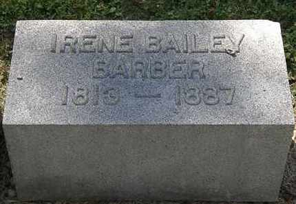 BARBER, IRENE BAILEY - Lorain County, Ohio | IRENE BAILEY BARBER - Ohio Gravestone Photos