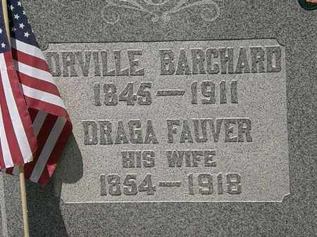 FAUVER BARCHARD, DRAGA - Lorain County, Ohio | DRAGA FAUVER BARCHARD - Ohio Gravestone Photos