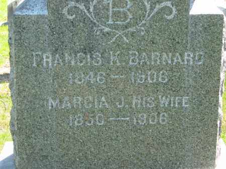 BARNARD, FRANCIS K. - Lorain County, Ohio | FRANCIS K. BARNARD - Ohio Gravestone Photos