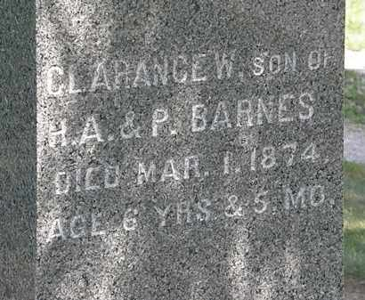 BARNES, CLARANCE W. - Lorain County, Ohio | CLARANCE W. BARNES - Ohio Gravestone Photos