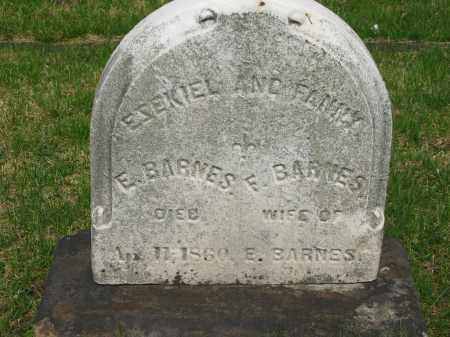 BARNES, FANNY - Lorain County, Ohio | FANNY BARNES - Ohio Gravestone Photos