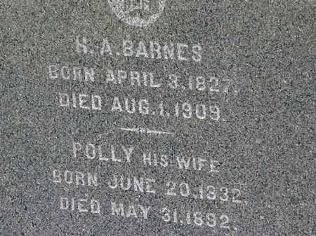 BARNES, H.A. - Lorain County, Ohio | H.A. BARNES - Ohio Gravestone Photos
