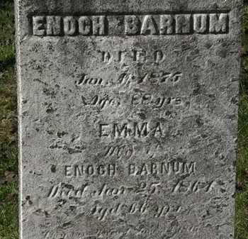 BARNUM, EMMA - Lorain County, Ohio | EMMA BARNUM - Ohio Gravestone Photos