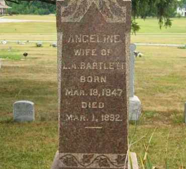 BARTLETT, L.A. - Lorain County, Ohio | L.A. BARTLETT - Ohio Gravestone Photos