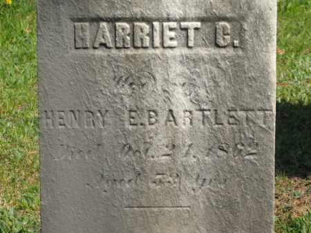 BARTLETT, HENRY E. - Lorain County, Ohio | HENRY E. BARTLETT - Ohio Gravestone Photos