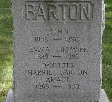 BARTON, JOHN - Lorain County, Ohio | JOHN BARTON - Ohio Gravestone Photos