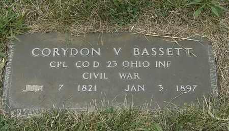 BASSETT, CORYDON - Lorain County, Ohio | CORYDON BASSETT - Ohio Gravestone Photos