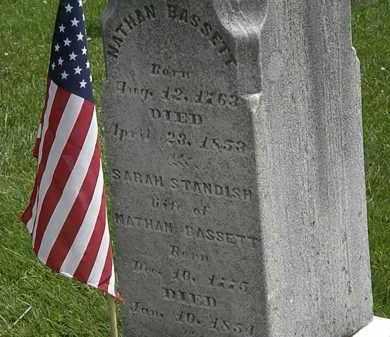 STANDISH BASSETT, SARAH - Lorain County, Ohio | SARAH STANDISH BASSETT - Ohio Gravestone Photos