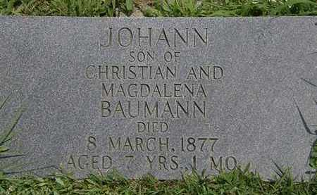 BAUMAN, CHRISTIAN - Lorain County, Ohio | CHRISTIAN BAUMAN - Ohio Gravestone Photos