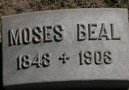 BEAL, MOSES - Lorain County, Ohio | MOSES BEAL - Ohio Gravestone Photos