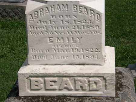 BEARD, ABRAHAM - Lorain County, Ohio | ABRAHAM BEARD - Ohio Gravestone Photos