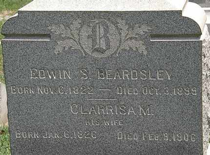 BEARDSLEY, EDWIN S. - Lorain County, Ohio | EDWIN S. BEARDSLEY - Ohio Gravestone Photos