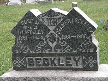 BECKLEY, DELMER I. - Lorain County, Ohio | DELMER I. BECKLEY - Ohio Gravestone Photos