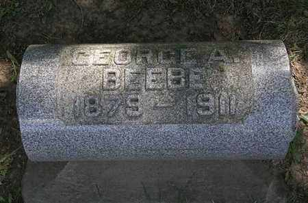 BEEBE, GEORGE A. - Lorain County, Ohio | GEORGE A. BEEBE - Ohio Gravestone Photos