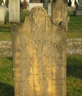 BEEBE, LOMAN C. - Lorain County, Ohio | LOMAN C. BEEBE - Ohio Gravestone Photos