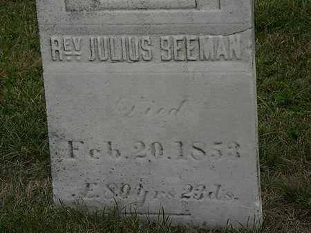 BEEMAN, JULIUS - Lorain County, Ohio | JULIUS BEEMAN - Ohio Gravestone Photos