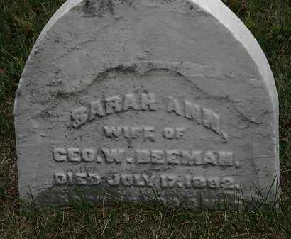 BEEMAN, GEO. W. - Lorain County, Ohio | GEO. W. BEEMAN - Ohio Gravestone Photos