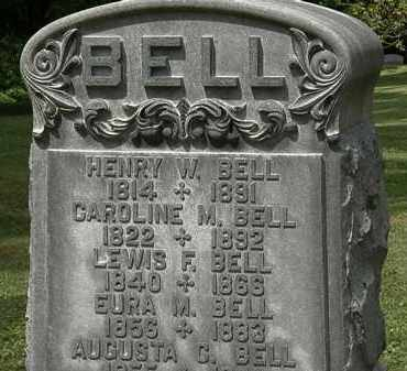BELL, HENRY W. - Lorain County, Ohio | HENRY W. BELL - Ohio Gravestone Photos