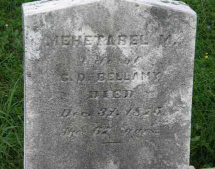 BELLAMY, MEHETABEL M. - Lorain County, Ohio | MEHETABEL M. BELLAMY - Ohio Gravestone Photos