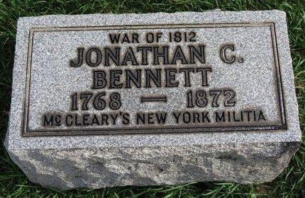 BENNETT, JONATHAN C. - Lorain County, Ohio | JONATHAN C. BENNETT - Ohio Gravestone Photos