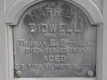 BIDWELL, HARRIET - Lorain County, Ohio | HARRIET BIDWELL - Ohio Gravestone Photos