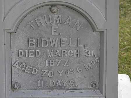 BIDWELL, TRUMAN E. - Lorain County, Ohio | TRUMAN E. BIDWELL - Ohio Gravestone Photos