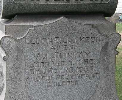 BINGHAM, ELLEN E. - Lorain County, Ohio | ELLEN E. BINGHAM - Ohio Gravestone Photos