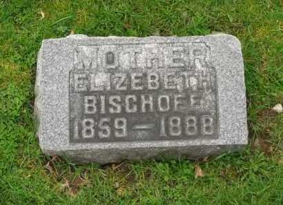 BISCHOFF, ELIZABETH - Lorain County, Ohio | ELIZABETH BISCHOFF - Ohio Gravestone Photos