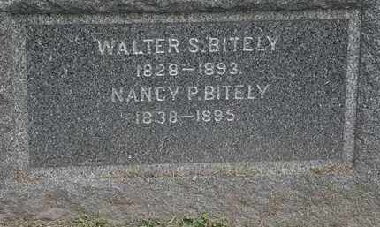 BITELY, WALTER S. - Lorain County, Ohio | WALTER S. BITELY - Ohio Gravestone Photos