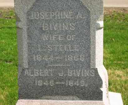 BIVINS, ALBERT J. - Lorain County, Ohio | ALBERT J. BIVINS - Ohio Gravestone Photos