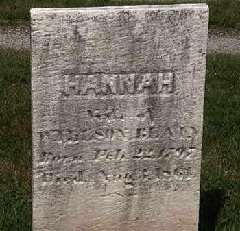 BLAIN, HANNAH - Lorain County, Ohio | HANNAH BLAIN - Ohio Gravestone Photos