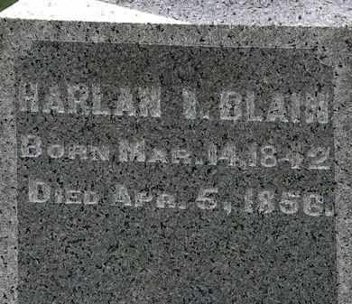 BLAIN, HARLAN I. - Lorain County, Ohio | HARLAN I. BLAIN - Ohio Gravestone Photos