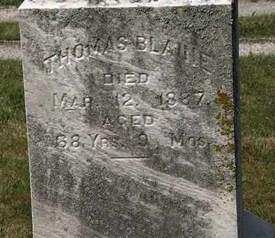BLAINE, THOMAS - Lorain County, Ohio | THOMAS BLAINE - Ohio Gravestone Photos