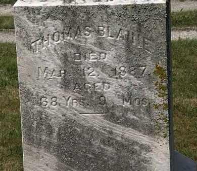 BLAINE, THOMAS - Lorain County, Ohio | THOMAS BLAINE - Ohio Gravestone Photos