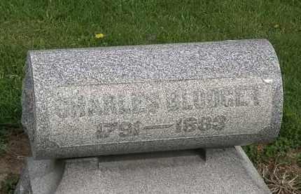 BLODGET, CHARLES - Lorain County, Ohio | CHARLES BLODGET - Ohio Gravestone Photos