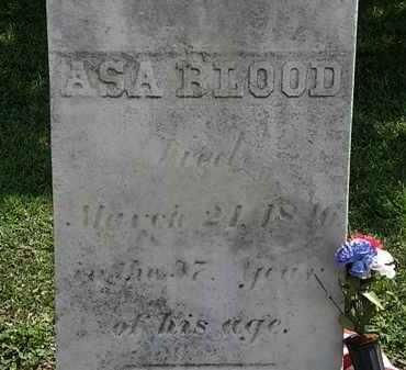 BLOOD, ASA - Lorain County, Ohio   ASA BLOOD - Ohio Gravestone Photos
