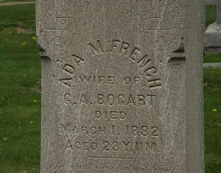 FRENCH BOGART, ADA M. - Lorain County, Ohio | ADA M. FRENCH BOGART - Ohio Gravestone Photos