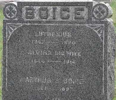 BOICE, LUTHENIUS - Lorain County, Ohio | LUTHENIUS BOICE - Ohio Gravestone Photos