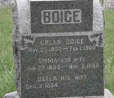 BOICE, DELLA - Lorain County, Ohio | DELLA BOICE - Ohio Gravestone Photos