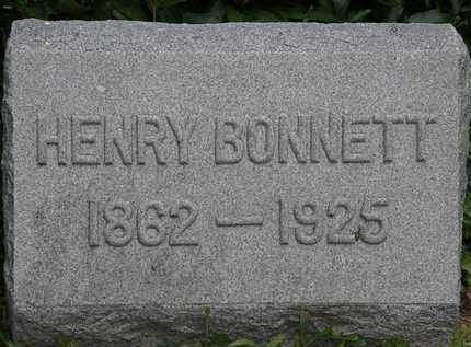 BONNETT, HENRY - Lorain County, Ohio | HENRY BONNETT - Ohio Gravestone Photos