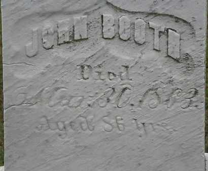 BOOTH, JOHN - Lorain County, Ohio | JOHN BOOTH - Ohio Gravestone Photos