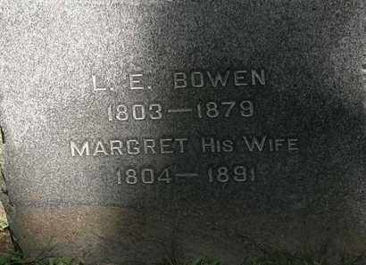 BOWEN, MARGRET - Lorain County, Ohio | MARGRET BOWEN - Ohio Gravestone Photos